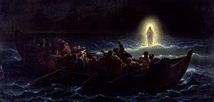 Jesus Christ Walking On Water
