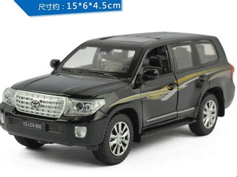 aliexpress buy 1 32 scale alloy diecast metal car for toyota land cruiser