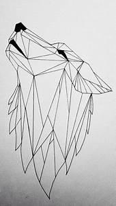 Loup Tatouage Geometrique : sublime loup fa on g ometrique loup geometrique dessins en 2019 ~ Melissatoandfro.com Idées de Décoration