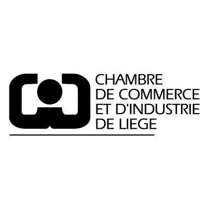 logo chambre de commerce chambre de commerce et dindustrie de liege vector logo