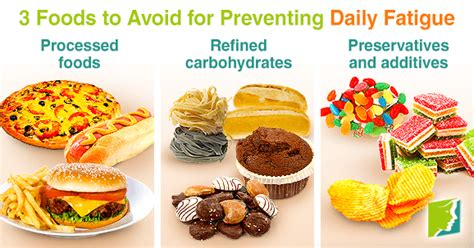 3 Foods To Avoid For Preventing Daily Fatigue