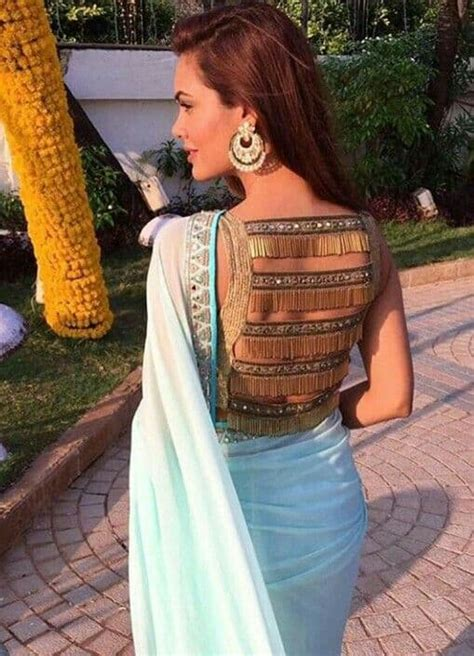 interesting blouse trends indian bride simple craft