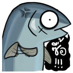 platooza yakuza tuna fish  stickers  store