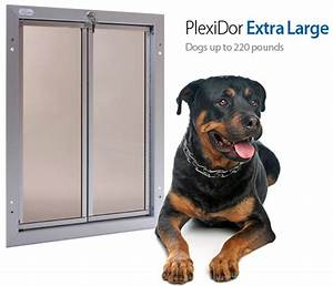 Plexidor extra large pet door for Extra large electronic dog door