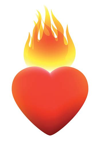 flame heart cliparts   clip art