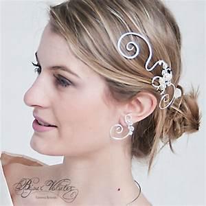 Bijoux Pour Cheveux : coiffures de mariage et accessoires cheveux mariage ~ Melissatoandfro.com Idées de Décoration