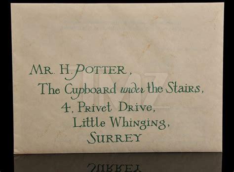 Harry Potter Letter Envelope Template