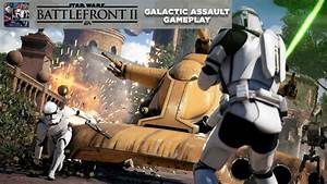 Star Wars Battlefront Ii Beta Gameplay Galactic Assault