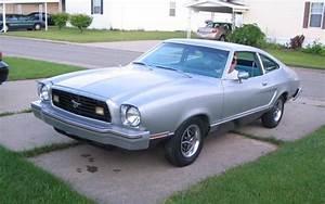 Silver 1977 Mach 1 Ford Mustang II Hatchback - MustangAttitude.com Photo Detail
