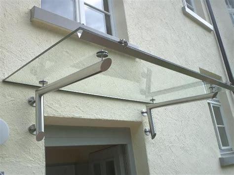 vordach glas edelstahl edelstahvordach glasvordach vord 228 cher vordach edelstahl