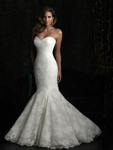 lace mermaid wedding dress the way to look elegant With lace mermaid wedding dress