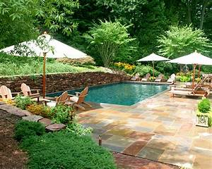 Designing your backyard swimming pool part i of ii for Pool landscape designs