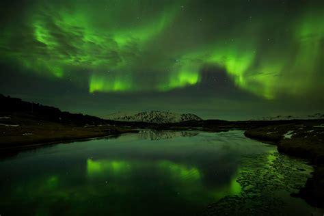 day  jokulsarlon ice cave northern lights