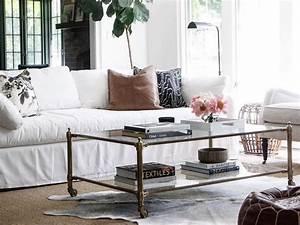 salon avec un canape blanc 12 idees deco dont s39inspirer With tapis chambre enfant avec canapé charlotte home spirit