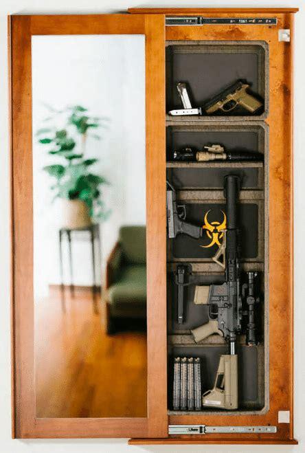 hidden gun storage solutions   cool  practical