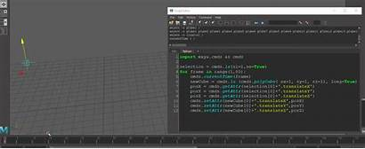 Python Maya Frames Log