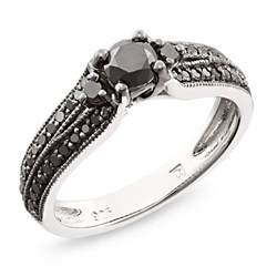 black engagement rings black black rhodium plated engagement ring engagement rings review