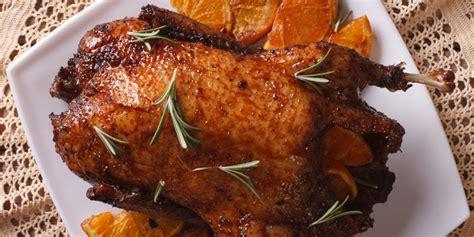 duck food duck a l orange recipe epicurious com