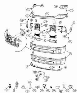 2013 Dodge Ram 1500 Air Dam  Front  Tow  Hooks