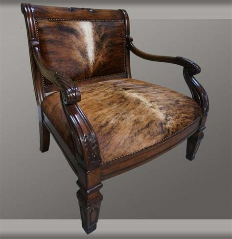 Cowhide Accent Chair by Cowhide Accent Chair Western Accent Chairs