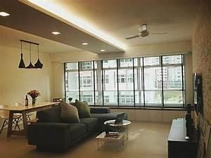 Eclairage Salon Sejour : le faux plafond suspendu est une d co pratique pour l 39 int rieur ~ Melissatoandfro.com Idées de Décoration