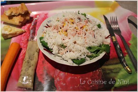 cuisine de nini salade maison la cuisine de nini