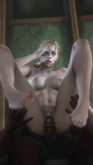 3d Animated Helena Harper Leeterr Resident Evil Sherry