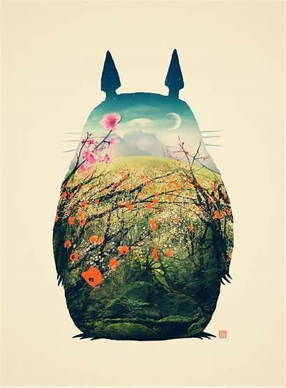 Totoro Neighbor Tonari Victor Miyazaki Vercesi Hayao