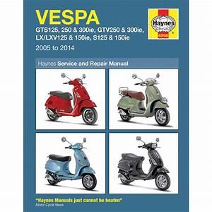 Haynes Repair Manual - Vespa Scooters - 4898