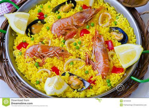 cuisine paella cuisine paella stock photo image 55153043