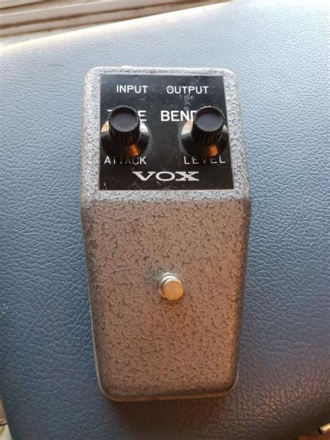 Vox Tonebender Guitar Pedals