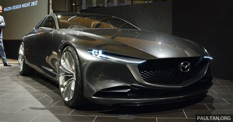 mazda coupe tokyo 2017 mazda vision coupe the future of kodo