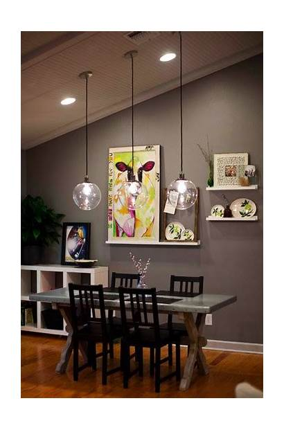 Wall Dining Decorate Table Deco Lights Pallet