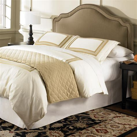 Padded Headboard Size Bed by Fashion Bed Versailles Size Upholstered