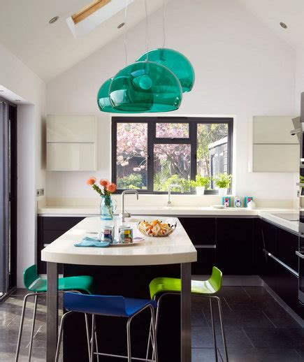 turquoise and green kitchen touch of turquoise 19 amazing kitchen decorating ideas 6398