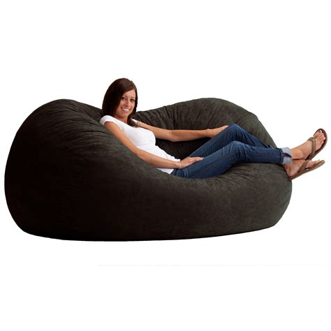 fuf bean bag chair medium 100 fuf bean bag chair by comfort research big joe