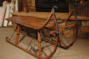 sleigh coffee table eagle head albany cutter sleigh With sled coffee table
