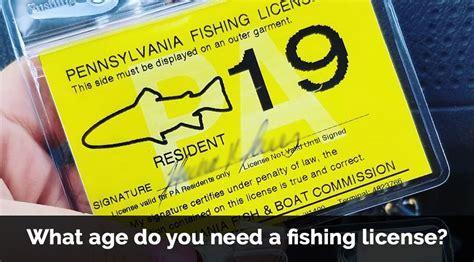 fishing license need age