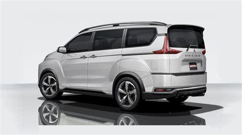 Mitsubishi Delica Modification by New Mitsubishi Delica Concept Leaks Before Tokyo Motor Show