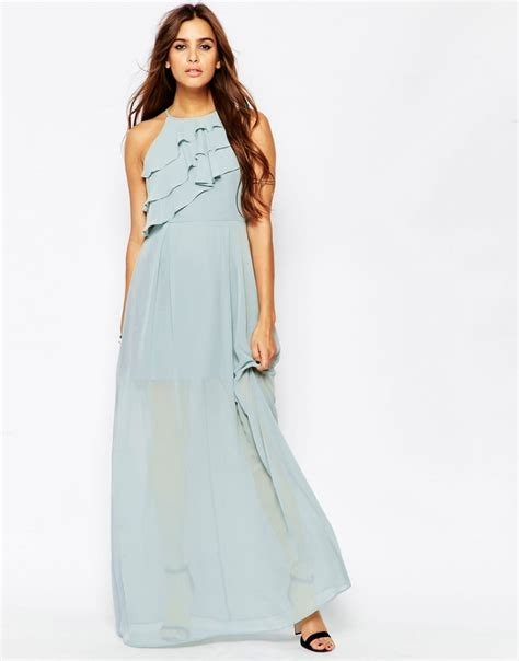 robe bleu pastel pour mariage longue robe ete fluide bleu pastel mariage la robe longue
