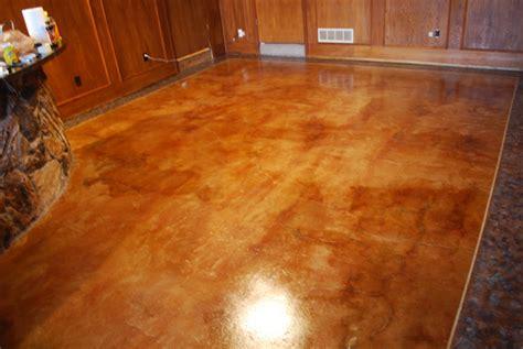 acid stained concrete floor midlothian texas esr