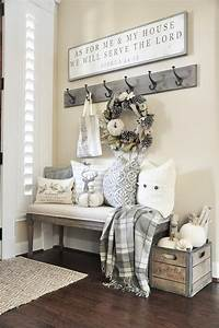 Awesome, 43, Beautiful, Rustic, Entryway, Decoration, Ideas