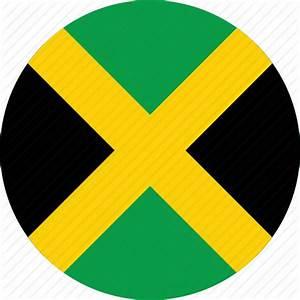 Circle, circular, country, flag, flag of jamaica, flags ...