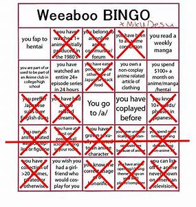 Weaboo Bingo | Brawl Games - Minecraft Server Network