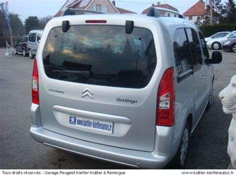 siege citroen berlingo occasion citroen berlingo 1 6l hdi 92cv multispace 2008 occasion