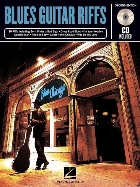 RIFF NOTES BLUES GUITAR RIFFS BK/CD 2ND EDITION