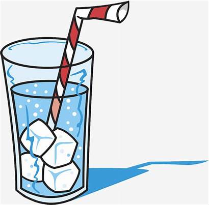 Drink Clipart Soft Clip Water Iced Glass