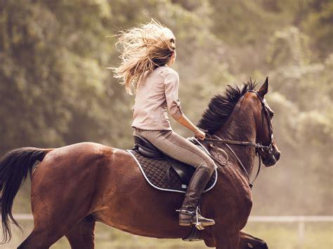 horseback riding harmful  women dr weil