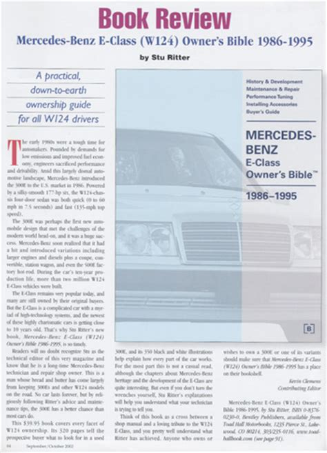 automotive repair manual 1986 mercedes benz e class navigation system reviews mercedes benz repair manual mercedes benz e class w124 owner s bible 1986 1995
