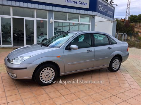 Ford Focus Automatic by Ford Focus 1 6 Ghia Saloon Automatic Lhd In Spain